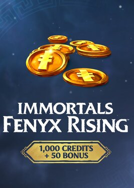 Immortals Fenyx Rising - 1050 Credits Pack постер (cover)
