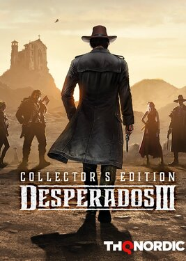 Desperados III - Collector's Edition постер (cover)