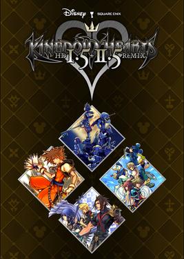 Kingdom Hearts HD 1.5+2.5 ReMIX постер (cover)