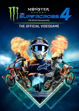 Monster Energy Supercross - The Official Videogame 4 постер (cover)