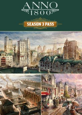 Anno 1800 - Season 3 Pass постер (cover)