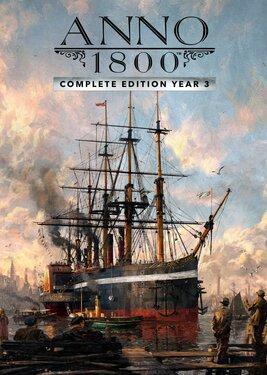 Anno 1800 - Year 3 Complete Edition постер (cover)