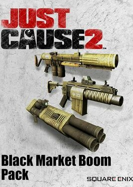 Just Cause 2 - Black Market Boom Pack постер (cover)