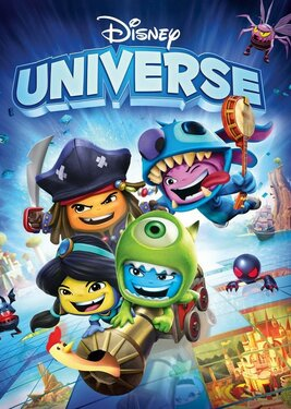 Disney Universe постер (cover)