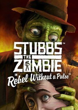 Stubbs the Zombie in Rebel Without a Pulse постер (cover)