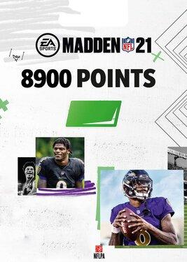 Madden NFL 21 - 8900 Madden Points постер (cover)