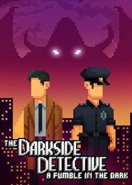 The Darkside Detective: A Fumble in the Dark постер (cover)