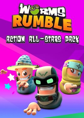 Worms Rumble - Action All-Stars Pack постер (cover)
