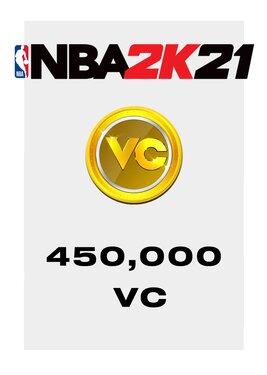 NBA 2K21 - 450000 VC постер (cover)