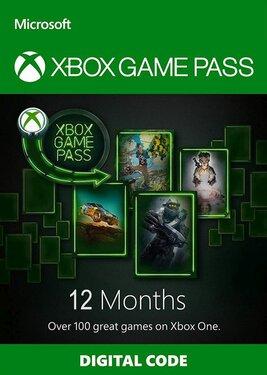 Xbox Game Pass на 12 месяцев
