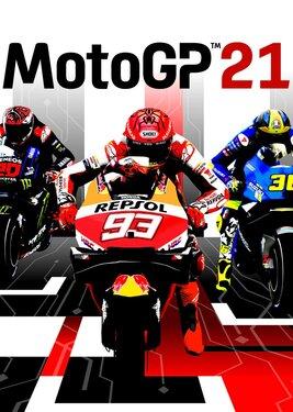 MotoGP 21 постер (cover)