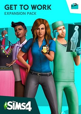 The Sims 4: Get To Work постер (cover)