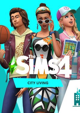 The Sims 4: City Living постер (cover)