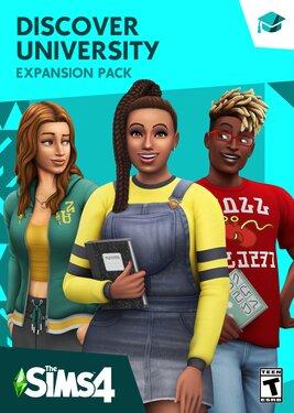 The Sims 4: Discover University постер (cover)