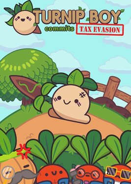Turnip Boy Commits Tax Evasion постер (cover)