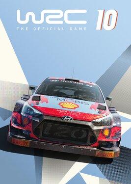 WRC 10 постер (cover)