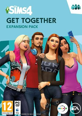 The Sims 4: Get Together постер (cover)