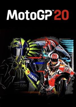 MotoGP 20 постер (cover)