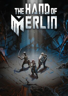 The Hand of Merlin постер (cover)