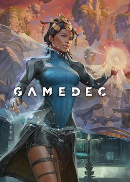 Gamedec постер (cover)