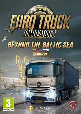 Euro Truck Simulator 2 - Beyond the Baltic Sea постер (cover)