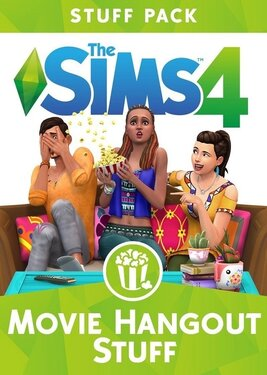 The Sims 4: Movie Hangout Stuff постер (cover)