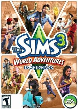 The Sims 3 - World Adventures постер (cover)