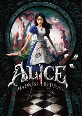Alice: Madness Returns постер (cover)