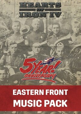 Hearts of Iron IV: Eastern Front Music Pack постер (cover)