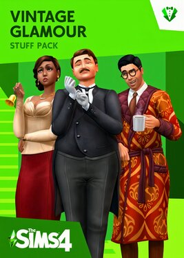 The Sims 4: Vintage Glamour Stuff постер (cover)
