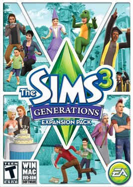 The Sims 3 - Generations постер (cover)