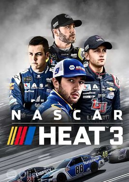 NASCAR Heat 3 постер (cover)