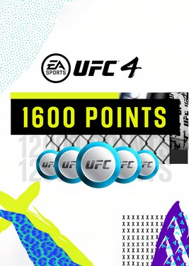 UFC 4 - 1600 UFC POINTS постер (cover)