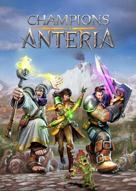 Champions of Anteria постер (cover)