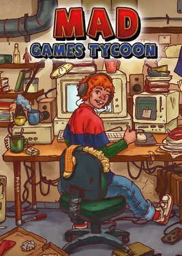 Mad Games Tycoon постер (cover)