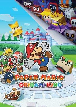 Paper Mario: The Origami King постер (cover)