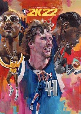 NBA 2K22: NBA 75th Anniversary Edition постер (cover)