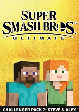 Super Smash Bros. Ultimate - Fighters Pack 7: Steve & Alex постер (cover)