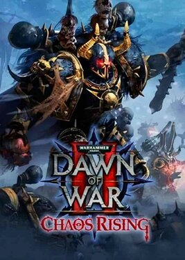 Warhammer 40,000: Dawn of War II - Chaos Rising постер (cover)