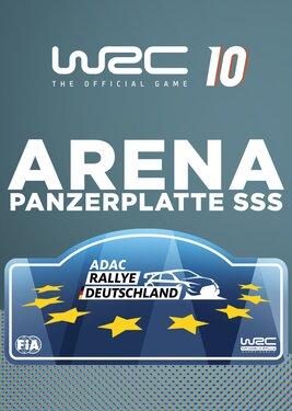WRC 10 - Arena Panzerplatte постер (cover)