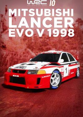 WRC 10 - Mitsubishi Lancer Evo V 1998 постер (cover)