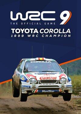 WRC 9 - Toyota Corolla 1999 постер (cover)