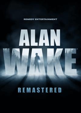 Alan Wake Remastered постер (cover)