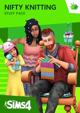 The Sims 4: Nifty Knitting постер (cover)