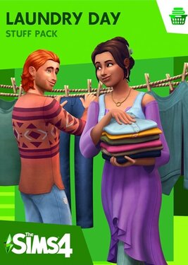The Sims 4: Laundry Day Stuff постер (cover)