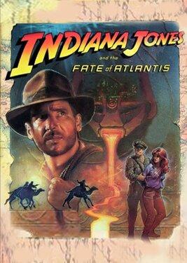 Indiana Jones and the Fate of Atlantis постер (cover)