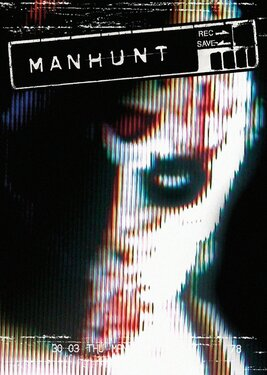 Manhunt постер (cover)