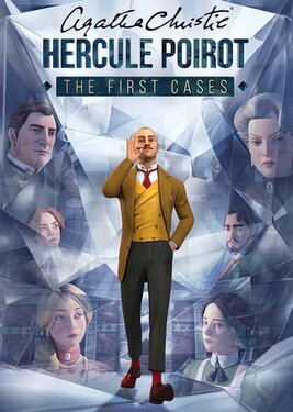 Agatha Christie - Hercule Poirot: The First Cases постер (cover)