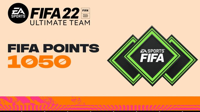 FIFA 22 Ultimate Team - 1050 очков FIFA Points