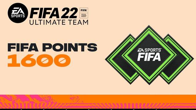 FIFA 22 Ultimate Team - 1600 очков FIFA Points